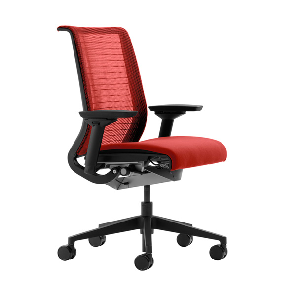 Steelcase s Think chair with its 3D knit back is an obvious choice for  maximum breathability  The seat back is light and flexible   you can even see  through  Need office chairs  Louisiana heat makes breathability key   The  . See Through Office Chairs. Home Design Ideas