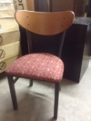 Side Guest Chair Wood Back