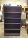 5 Shelf Metal Bookcase%2DGray